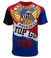 "Оригінальна футболка Top Gun ""Flying Legend"" TGM1806 (Red)"