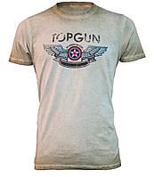 "Футболка Топ Ган Top Gun ""Wings Logo"" Tee TGM1701 (Olive)"