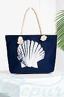 Пляжная сумка Gepur Stylish Ракушка текстильная, летняя сумка