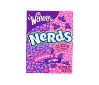 Карамельное драже Wonka Nerds Клубника-Виноград, фото 1