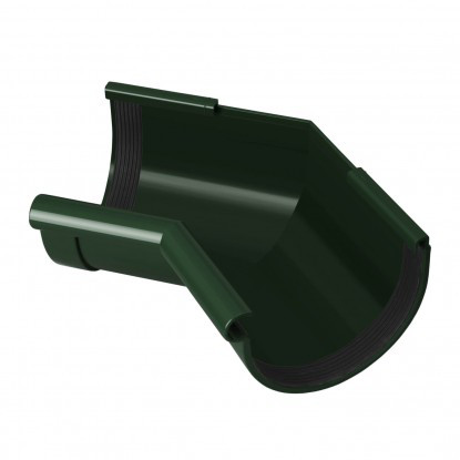 Угол желоба внутренний 135°  Rainway 90 Зеленый