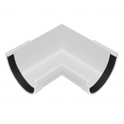 Угол желоба внутренний 90° Rainway 90 Белый