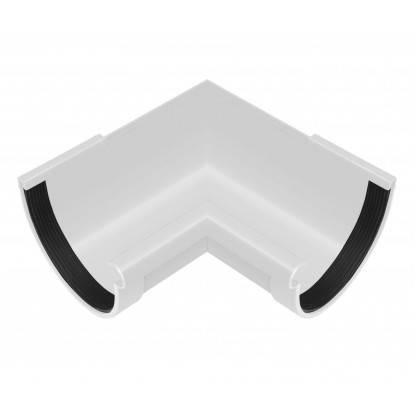 Угол желоба внутренний 90° Rainway 90 Белый, фото 2