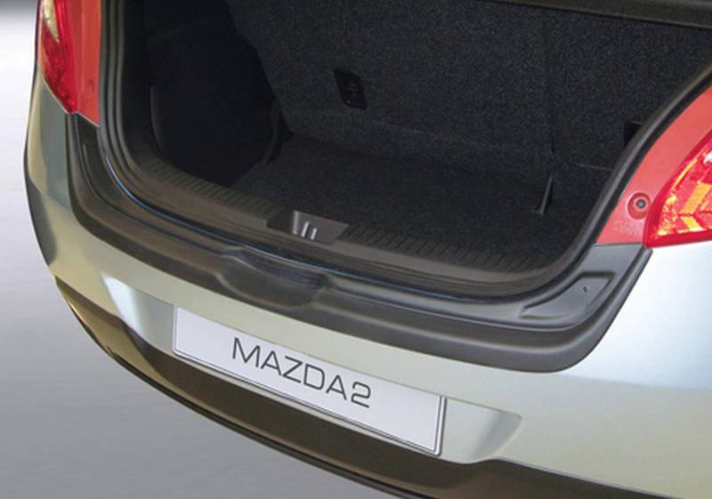 RBP312 rear bumper protector Mazda 2 2007-2014