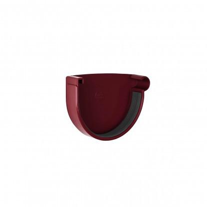 Заглушка желоба правая Rainway 90 Красный