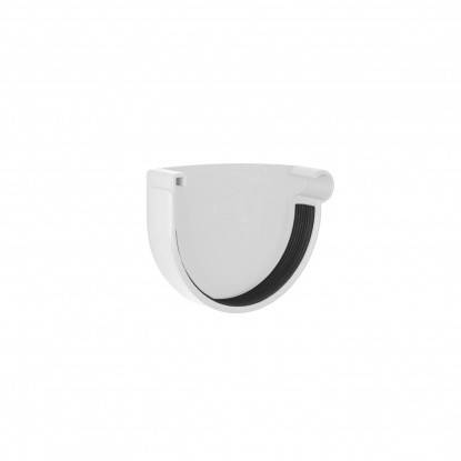 Заглушка желоба правая Rainway 90 Белый, фото 2