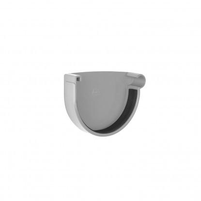 Заглушка желоба правая Rainway 90 Серый