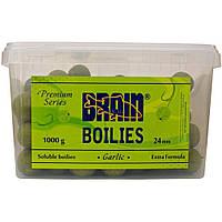 Бойл Brain fishing Garlic (Чеснок) Soluble 1000 gr, 24 mm (1858.01.06)