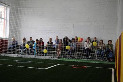 Защитно-заградительная сетка  в детской футбольной школе FootyBall в городе Киев