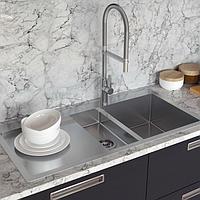 Кухонные мойки из нержавеющей стали AquaSanita
