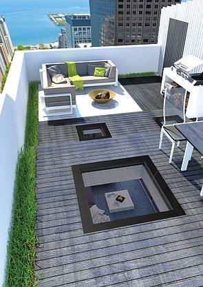 Окно для плоской крыши Fakro DXW 60х90 см, фото 3