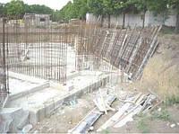 Заливка фундаменту будинку