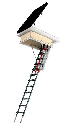Складная чердачная лестница Fakro LML 92х130 см (280 см), фото 2