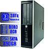 Системный блок HP 3 ядра 3.0GHz/8Gb DDR3/HDD-250Gb
