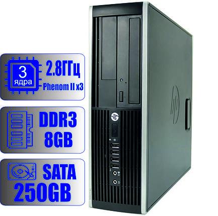 Системный блок HP 3 ядра 3.0GHz/8Gb DDR3/HDD-250Gb , фото 2