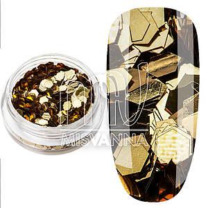 Шестигранники IR002, бронза 2 мм