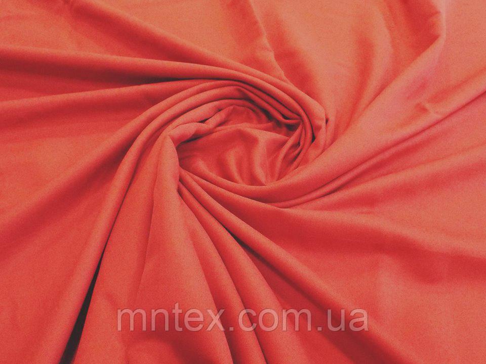 Ткань для пошива постельного белья сатин гладкокрашеный Бордо
