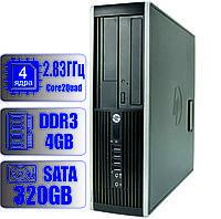 Системный блок HP 4-ядра 2.83GHz/4GB DDR3/HDD 320GB
