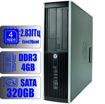 Системный блок HP 4-ядра 2.83GHz/4GB DDR3/HDD 320GB, фото 2