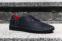 Чоловічі мокасини на шнурівці - зручне взуття, з м'якою підошвою!