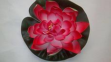 Искусственный лотос(водяная кувшинка,декоративная водяная лилия), фото 3