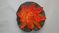Искусственный лотос(водяная кувшинка,декоративная водяная лилия), фото 2
