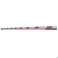 Стрела алюминиевая BOOM-6-LED для шлагбаума DOORHAN BARRIER-6000 c подсветкой