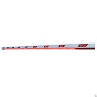 Стрела алюминиевая BOOM-5-LED для шлагбаума DOORHAN BARRIER-5000 c подсветкой