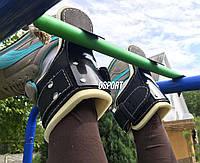 Гравитационные ботинки (инверсионные крюки для турника) тренажер для спины и пресса OSPORT Medium (OF-0002)