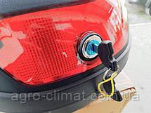 Кофр для мотоцикла (багажник) HF-880 черный мат, фото 3
