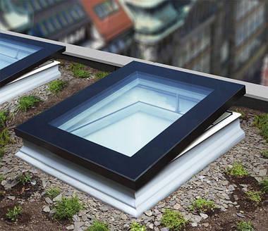 Окно для плоской крыши Fakro DXF DU8 90х90 см, фото 3