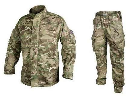 Оригинальный комплект (костюм) британской армии МТП б/у (китель и брюки) размеры 44,46,48 рост до 170