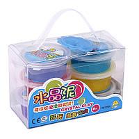 Набор для детского творчества ''Гидрогель'' 6 цветов.