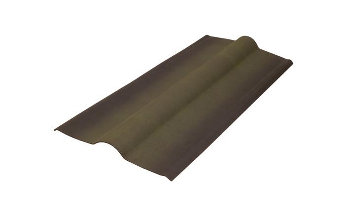 Конек Черепица Ондулин Onduline Зеленый 0.36 м х 1 м