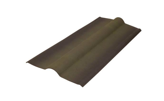 Конек Черепица Ондулин Onduline Зеленый 0.36 м х 1 м, фото 2