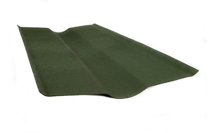 Конек Ондувилла Onduline стандартный Зеленый 0.485 м х 0.9 м