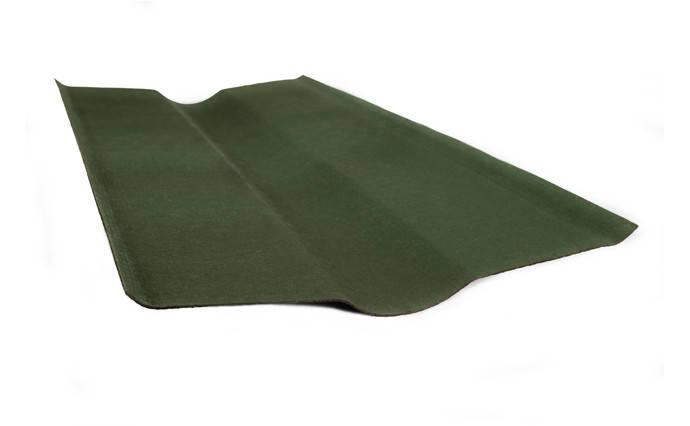 Конек Ондувилла Onduline стандартный Зеленый 0.485 м х 0.9 м, фото 2
