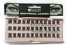 Накладные ресницы Salon Professional Trio Super Flare Medium пучковые безузелковые средние