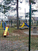 Секционный забор (3d панель) 1680х2500