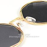 Солнцезащитные очки Dior Круглые зеркальные сиреневые оригинальный дизайн Диор качественная реплика, фото 5
