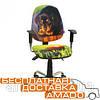 Дитяче комп'ютерне крісло Бридж Хром Дизайн №10 Щеня