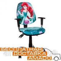 Детское компьютерное кресло Бридж Хром Дизайн Дисней Ариель
