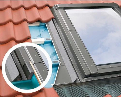 Уплотнительный воротник Fakro для Среднеповоротных мансардных окон и окон с Комбинированной системой открывания EHV-AT Thermo  78х160 см