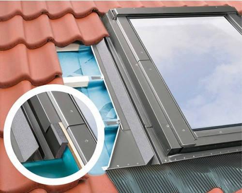 Уплотнительный воротник Fakro для Среднеповоротных мансардных окон и окон с Комбинированной системой открывания EHV-AT Thermo  78х160 см, фото 2