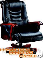 Крісло Монреаль, шкіра коричнева (675-B+PVC), фото 1