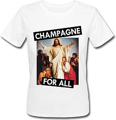 Женская футболка Campagne For All (белая)