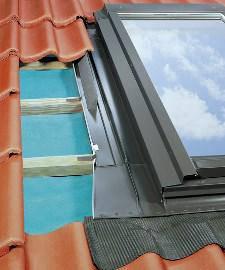 Изоляционный оклад для термоизоляционных окон-выходов на крышу Fakro EZW 94х118 см, фото 2