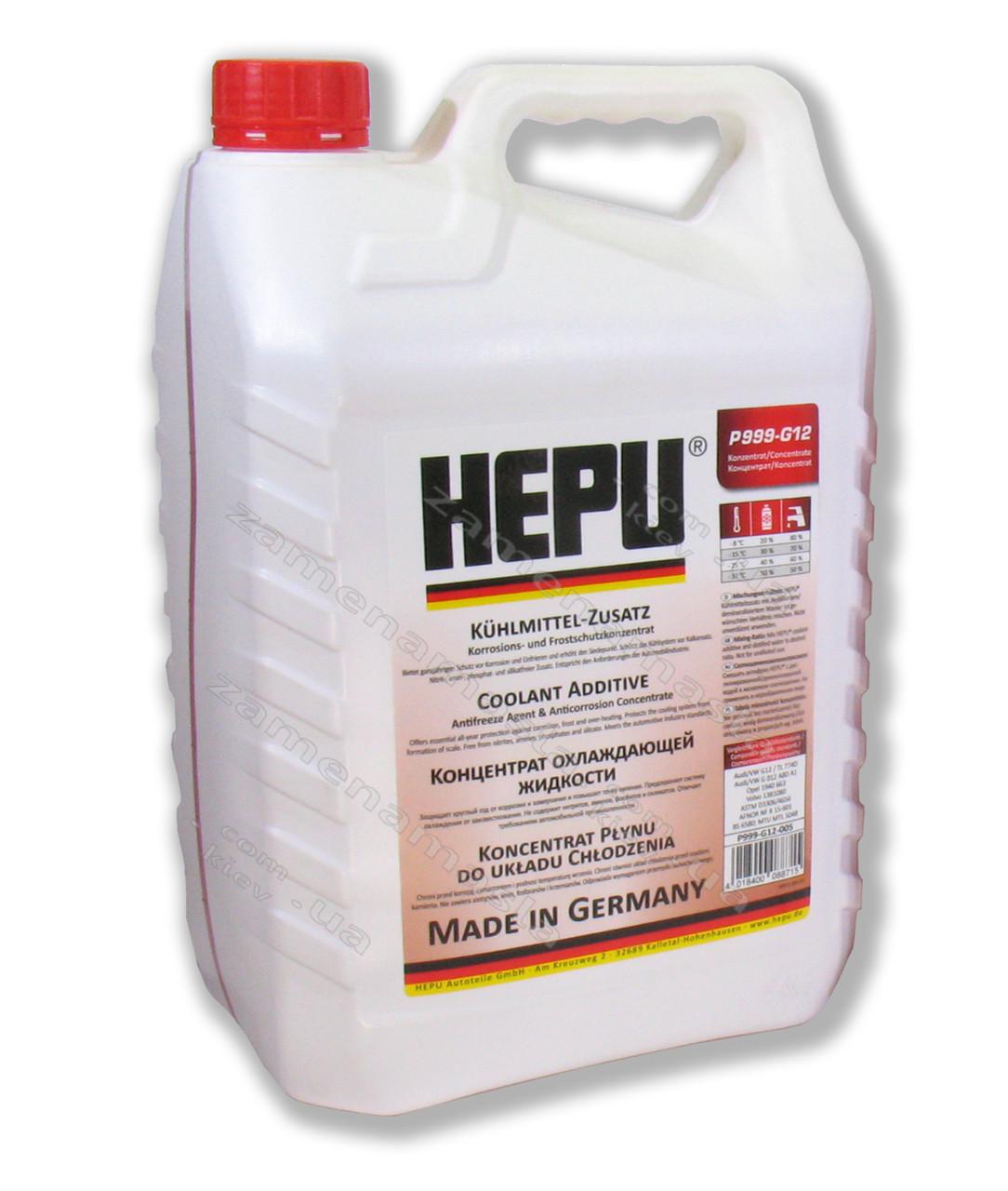 HEPU G12 - концентрат антифриза 5л