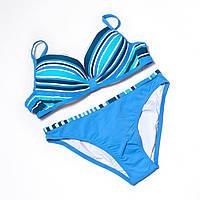 Купальник женский голубой Atlantic beach р.42-44 чашка AB k2012-1- 3840a00704d7d