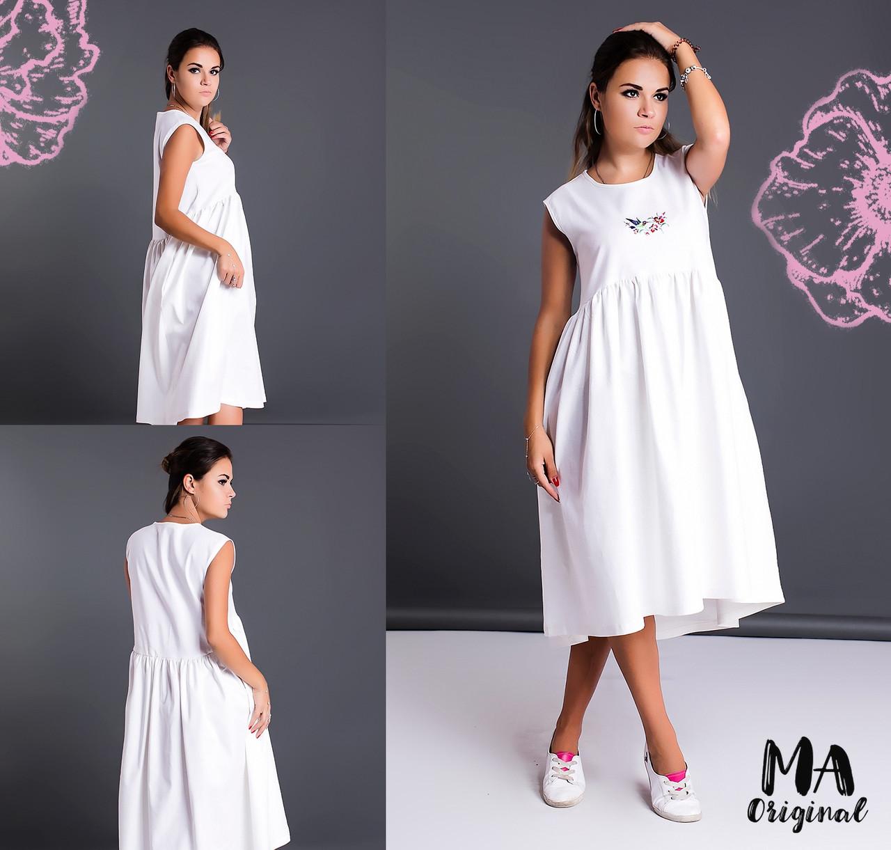 676ddad6933 Летнее льняное платье oversize. 2 цвета!  продажа